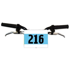 Generic Mountain Bike Numbers - Blue